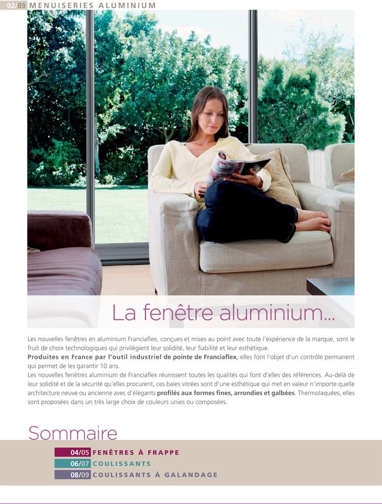 LA fenêtre aluminium iso confort limoux