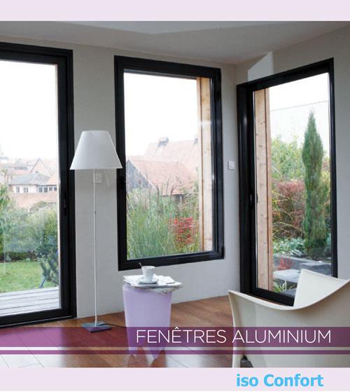 Fenêtre aluminium iso confort limoux
