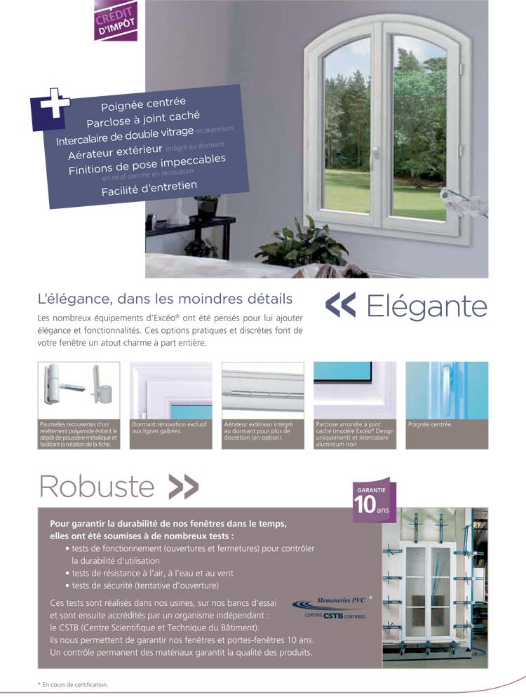 Fenêtre PVC élégante
