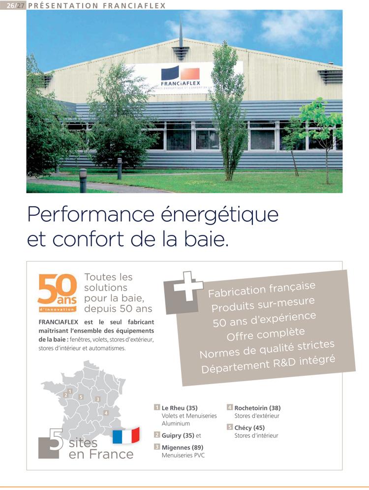 Fenêtre PVC performance énergétique