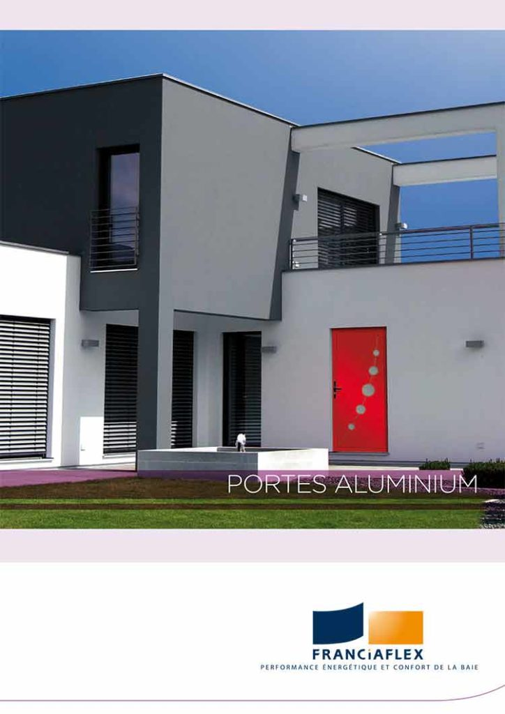 Catalogue porte Alu ou Aluminium