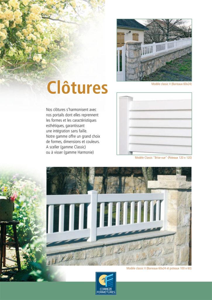 Clôture PVC pour murette Iso Confort Limoux pomas carcassonne