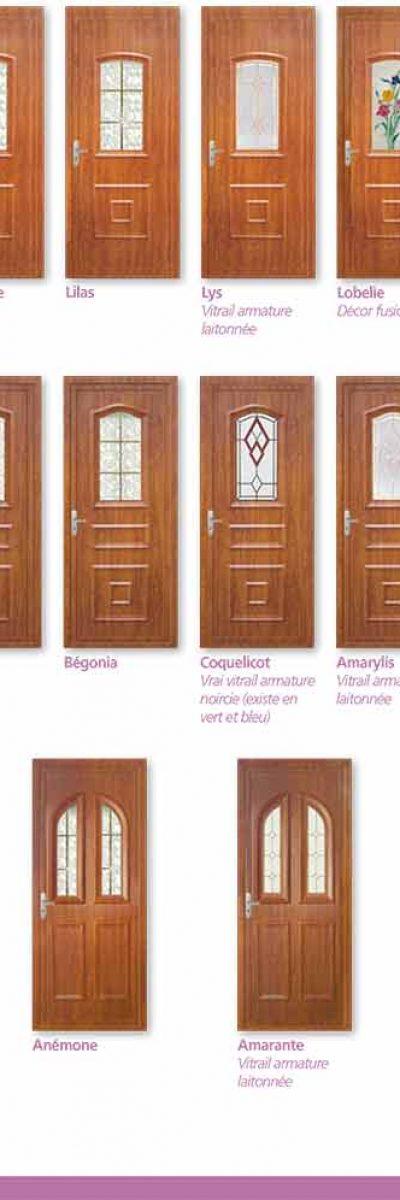 Plusieur modèle de Porte-fenêtre PVC ISO CONFORT à limoux
