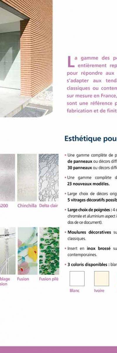 Porte PVC ISO CONFORT à lIMOUX